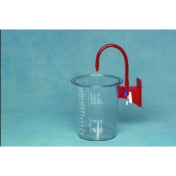 RECEPTAL SUCTION CANISTER FLEXI (65652-616) 1500ML EACH