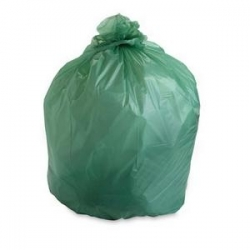 BAG GARBAGE JUMBO GLAD 55 LITRE GREEN  PACK/50