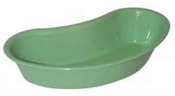 DISH KIDNEY 300/320MM (KD30GR) GREEN A/CLAVABLE