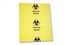 BAG CLINICAL WASTE YELLOW HD 70X100CM CTN/200