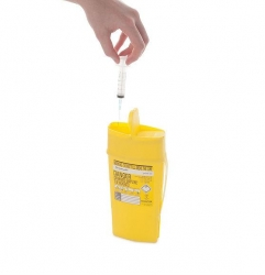 SHARPSAFE 0.6L CONTAINER (36-4150)               EACH