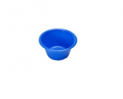 BOWL PLASTIC DISP ST BLUE 150ML (06-790)  EACH