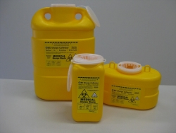 SHARPS COLLECTOR CHEMO 19LTR 303510