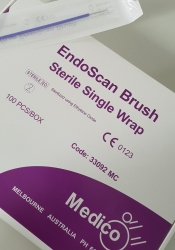 ENDOSCAN BRUSH STERILE IN PEEL POUCH    EACH