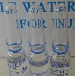 WATER FOR INJ 1ML GLASS AMP FOR TRAINING BOX/100