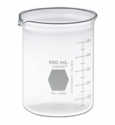 BEAKER GLASS 600ML       EACH