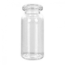 GLASS VIALS 10ML CLEAR STANDARD SIZE EA