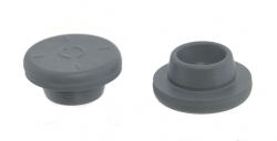 GREY BUTYL RUBBER STOPPERS 20MM EA