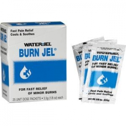 WATERJEL BURN JEL 3.5G SACHET (FA0157) BOX/5