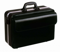 DRS BAG BOLLMANN NOVA BLACK LEATHER (1.18.111)