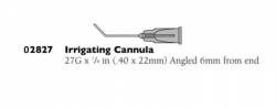 02827 IRRIGATING CANNULA 27G N/STERILE  100