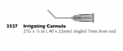 2527 27G IRRIGATING CANNULA ANGLED BOX/10
