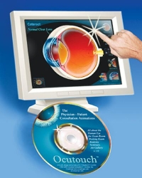 OCUTOUCH INTERACTIVE INSTRUCTIONAL CD ROM